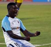 El goleador del campeonato ecuatoriano 2018 jugará desde el próximo año en África. Foto: API