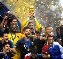 La final del Mundial fue vista en directo por un total de 1.120 millones de personas. Foto: AFP
