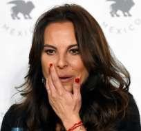 Kate del Castillo no ha sido llamada a testificar en el juicio de El Chapo. Foto: AFP