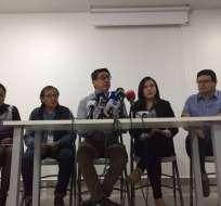 Familiares de periodistas asesinados dicen que muerte de Guacho impide llegar a la verdad. Foto  Fundamedios
