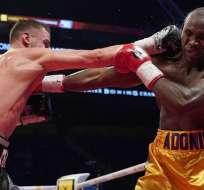 Stevenson perdió la corona del Consejo Mundial de Boxeo tras ser vencido por este KO. Foto: AFP