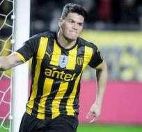 Rodríguez, de 28 años, será rival del Peñarol en la próxima edición de la Copa Libertadores.