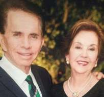 Don Alfonso junto a su esposa, Priscila Rendón, con quien lleva casado 46 años. Foto: Instagram Revista Mariela.