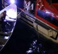Los hombres fueron rescatados el viernes después de pasar 20 días en ultramar.