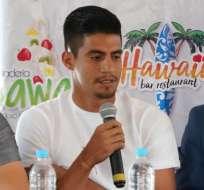 Luzarraga explicó el pasado 26 de noviembre la situación del menor previo al duelo contra Guayaquil City.
