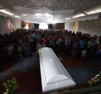 Tragedia se produce cerca de 15 días después de la muerte de otra niña migrante de siete años. Foto: AFP