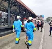 ECUADOR.- El incidente se produjo la mañana de este 26 de diciembre en el sur de Guayaquil. Foto: Twitter Bomberos
