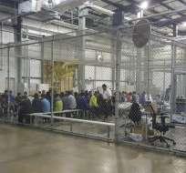 EEUU hará controles médicos a niños migrantes en custodia tras segunda muerte. Foto: AFP