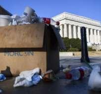 La parálisis presupuestaria en Estados Unidos se extendería hasta la próxima semana. Foto: AFP