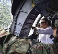 Medios colombianos informaron que se está a la espera de la aparición de los familiares. Foto: AFP.