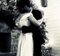 Miley Cyrus y Liam Hemsworth se casaron. Foto: IG