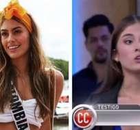 Miss Colombia aparece en el programa 'Caso Cerrado'.