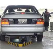 En Guayaquil, el centro de revisión vehicular atenderá hasta este sábado 29 de diciembre a las 15:00. Foto: API