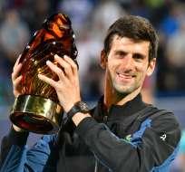 El número uno del mundo venció en la final a Kevin Anderson. Foto: GIUSEPPE CACACE / AFP