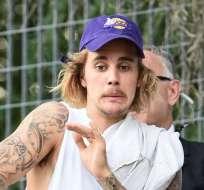 El nuevo tatuaje del cantante canadiense fue revelado por Jon Boy. Foto: Archivo AFP