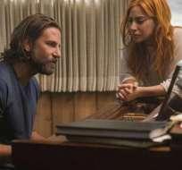 El actor Bradley Cooper debutó como director en esta película. Foto: