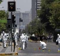 CHILE.- Según informe, el estallido se produjo cuando una pareja habría manipulado una bolsa. Foto: AFP