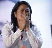 PERÚ.- La hija del expresidente Fujimori está en prisión preventiva por 36 meses desde octubre. Foto: AFP