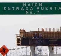 El nuevo aeropuerto de México se dejó de construir tras meses de negociaciones.