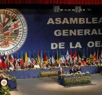 La mayoría de países de la OEA rechazan este nuevo período de Nicolás Maduro. Foto: AFP