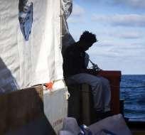 La agencia de refugiados de la ONU calcula que 2.262 migrantes murieron tratando de cruzar el Mediterráneo en 2018. Foto: AP.