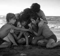"""""""Roma"""" es un homenaje en blanco y negro a la niñera y la madre del director mexicano. Foto: Internet."""
