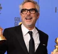"""""""Roma"""" fue elegida mejor película de habla no inglesa y Alfonso Cuarón logró el Globo de Oro a mejor director."""