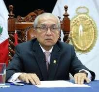 PERÚ.- La dimisión de Chávarry se da cuando se busca declarar en emergencia al ministerio Público. Foto: AFP