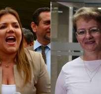 QUITO, Ecuador.- Asamblea devolverá a Corte de Justicia pedido para procesar penalmente a Vicuña y Vallejo. Fotos: API