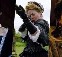 Rachel Weisz, Emma Stone y Olivia Colman en La Favorita. Foto: Collage Internet.