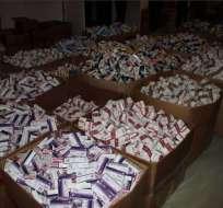 CUENCA, Ecuador.- Justicia condena a 5 años a gerente de Mediveza, se destruyó 18 toneladas de fármacos. Foto: Archivo