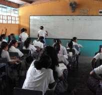 Todo listo para inscripción de estudiantes del régimen Costa. Foto: Archivo