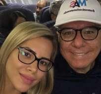Vito Muñoz será papá. Foto: Instagram