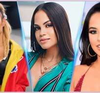 Karol G, Natty Natasha y Becky G figuran entre las estrellas más admiradas de la farándula. Foto: Collage.