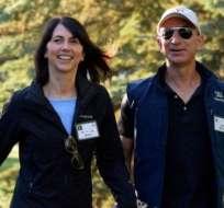 Jeff y MacKenzie Bezos estuvieron juntos por más de 25 años.