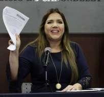 Exvicepresidenta envió una carta a Moreno acerca del Servicio de Protección Presidencial. Foto: API