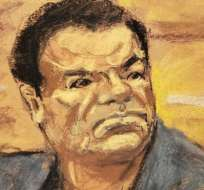 """""""El Chapo"""" Guzmán, de 61 años, podría pasar el resto de su vida en la cárcel."""