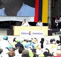 ECUADOR.- Se investiga un perjuicio para el Estado de alrededor de $250 mil por enlaces ciudadanos. Foto: Archivo