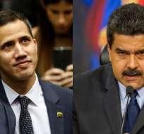 CARACAS, Venezuela.- Juan Guaidó desafía a Nicolás Maduro y llama a movilizaciones. Foto: Collage.