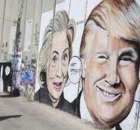 El presidente Donald Trump ha expresado su admiración por el muro construido en la línea divisoria entre Israel y Cisjordania.