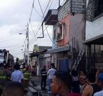 Dos detenidos tras incendio en centro de rehabilitación en Guayaquil. Foto: Fiscalía Ecuador