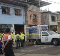 18 muertos asfixiados en centro de rehabilitación que funcionaba sin permisos actualizados. Foto: API