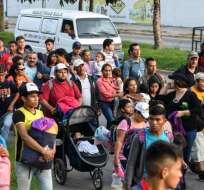 HONDURAS.- Los migrantes saldrían este martes 15 de enero desde la catedral de San Pedro Sula. Foto: Archivo