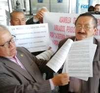 QUITO, Ecuador.- Según cálculos de los denunciantes, se trataría de un perjuicio de $ 5.000 millones. Foto: Corape