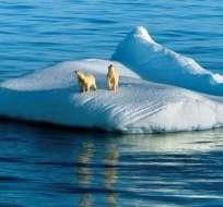 Este deshielo provocará un aumento significativo del nivel del mar en los próximos años. Foto: AFP