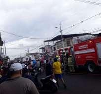 9 personas continúan hospitalizadas tras incendio en suburbio. Foto: Archivo - Referencial