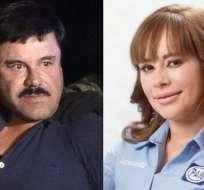 Lucero Sánchez, de 29 años, fue diputada por Sinaloa y conoció al 'Chapo' cuando tenía 21. Foto: AFP