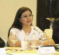 La exlegisladora está fuera del país, según abogado Harrison Salcedo. Foto: Archivo