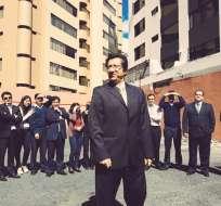 Juan Carlos Martínez dijo que lucharía en contra de la corrupción. Foto: Twitter
