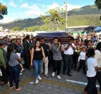 Alcalde de la ciudad declaró 3 días de luto por femicidio de Diana Ramírez. Foto: API